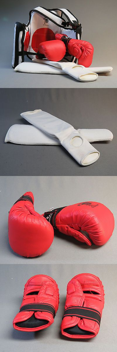 Other Combat Sport Protection 179783: Taekwondo Sparring Equipment Pads Gloves Socks Punch Young Br Uniform Size Small -> BUY IT NOW ONLY: $68.84 on eBay!