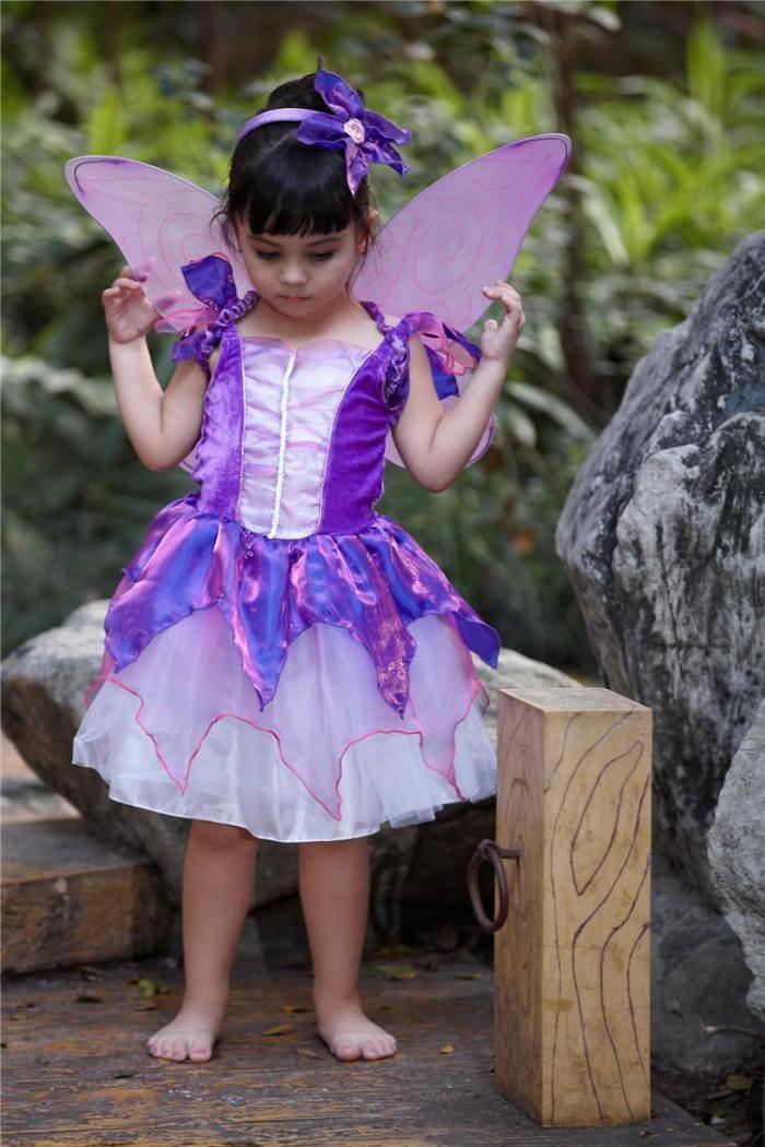 déguisement fée clochette, une petitte robe fantastique pour petite fille