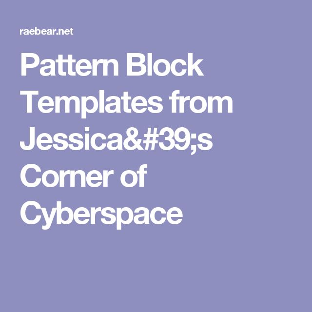 The 25+ best Pattern block templates ideas on Pinterest Free - pattern block template