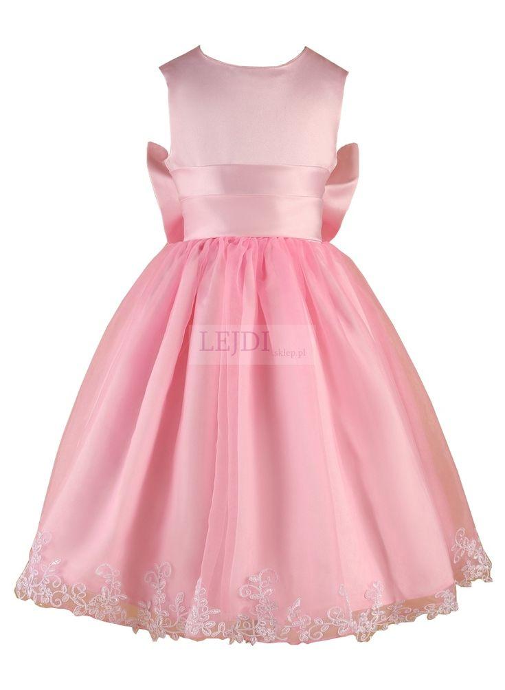 Długa sukienka dla dziewczynki   Flower girl