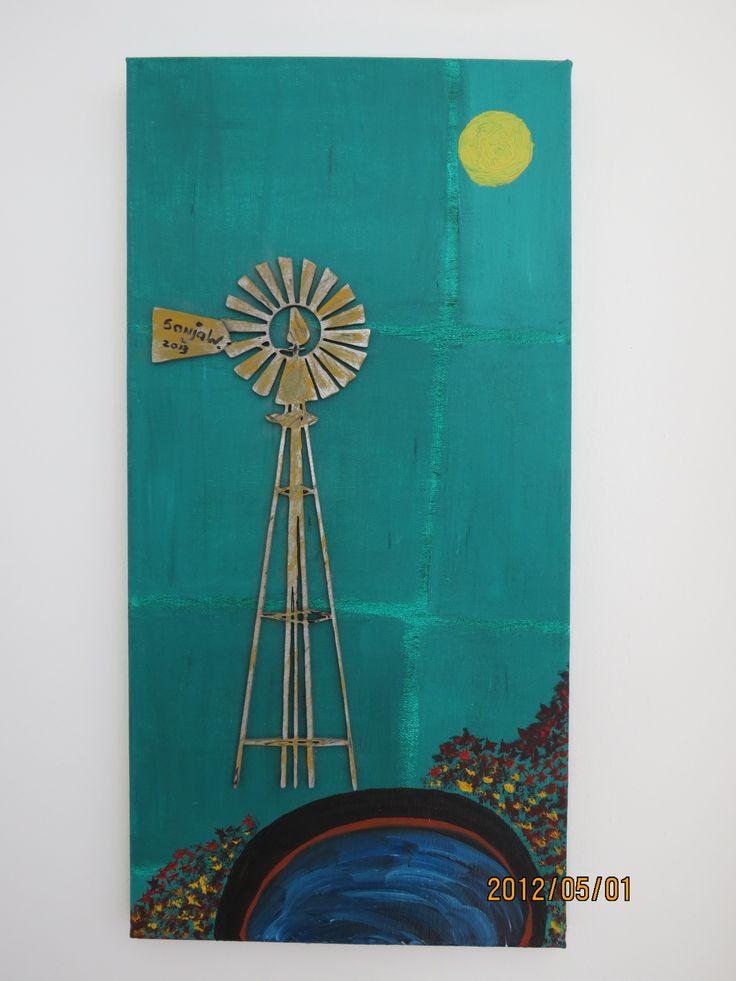Karoo windpomp - not for sale