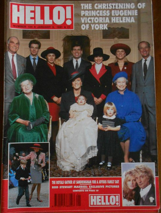 HELLO magazine - 134 - Jan 1991 Sarah Ferguson
