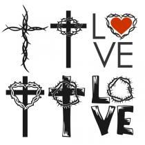 Cross Thorn Easter Cuttable Designs