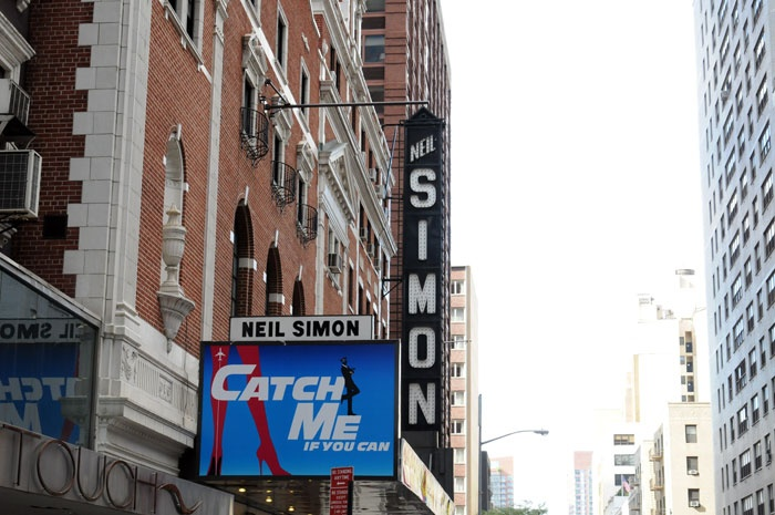 Catch Me If You Can at the Neil Simon Theatre