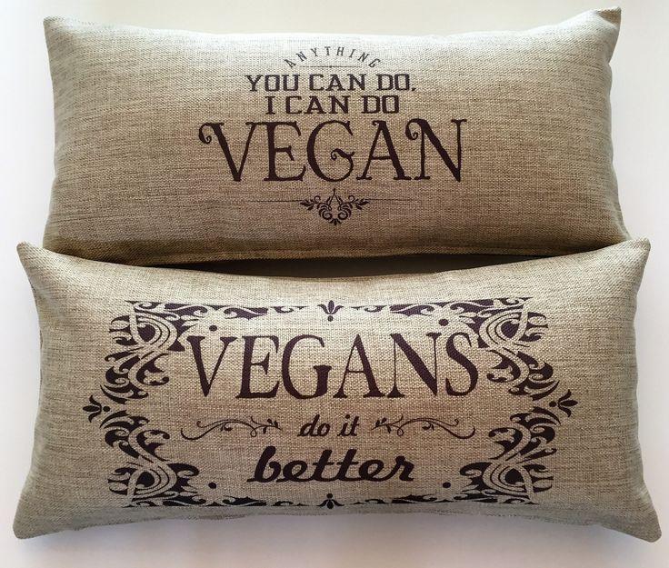 Vegan Indoor-Outdoor Pillow