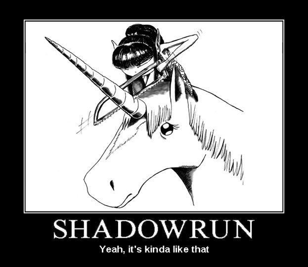 Shadowrun Demotivational Posters | Calgary Geeks Shadowrun Forum
