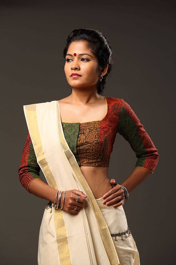 44 Best Images About Kerala Saree On Pinterest