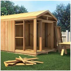 "Build Your Own Shed - Download the ""How To Build"" guide from WoodStore.com, and then choose downloadable plans for any of dozens of beautiful sheds."