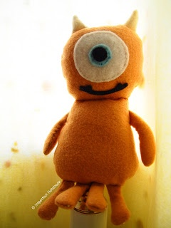 DIY: Little Mikey Plushie From Monsters Inc.