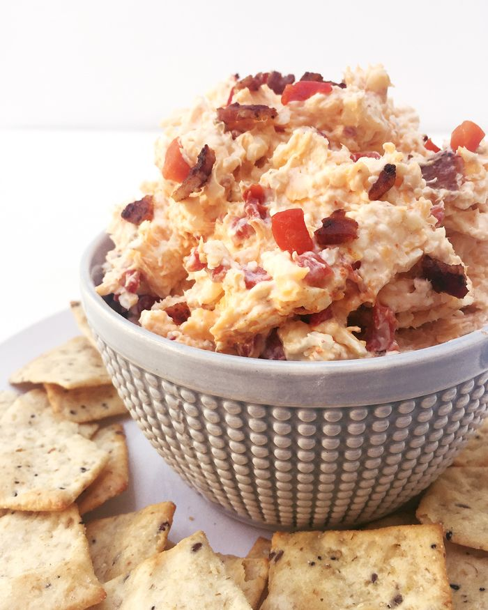 Bacon Pimento Cheese is the Southern salty cheese spread that will ...