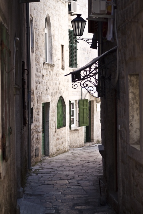 Montenegro alleyways
