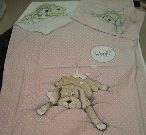 Snatch the Dog bedding .... my little sister in law had this