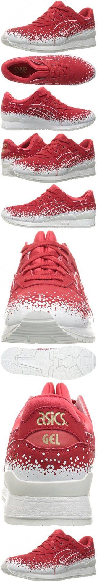 ASICS Men's Gel-Lyte Iii Fashion Sneaker, Red, 9.5 M US