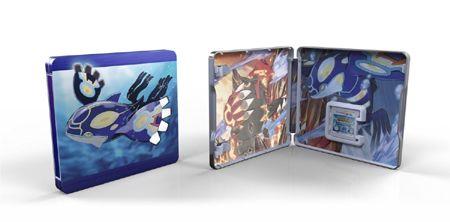Pokémon Alpha Sapphire - Limited Steelbook Edition Nintendo 3DS fra Platekompaniet. Om denne nettbutikken: http://nettbutikknytt.no/platekompaniet-no/