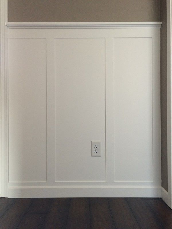 Diy Board And Batten Front Entry Wainscoting Kitchen