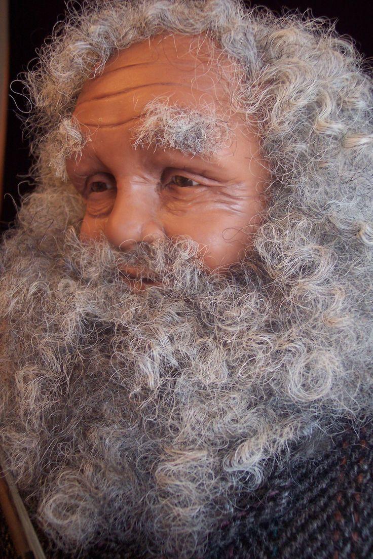 Stockings and Strings-Santa face