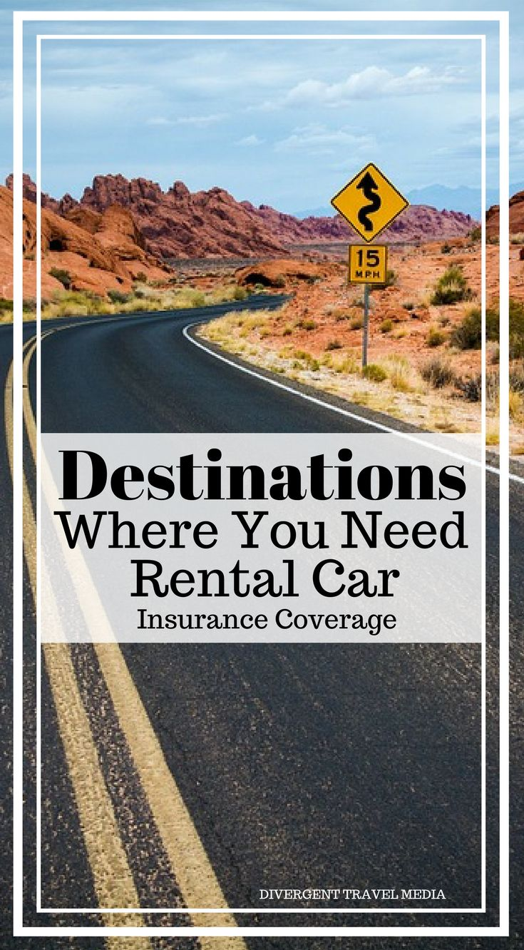 Destinations Where You Need Rental Car Insurance Coverage. Should you buy rental car insurance?The answer's almost always yes. But it's especially important to have rental car insurance coverage if you're traveling to any of these international destinations, which are known for dangerous road conditions. Click to read the full blog post: Destinations Where You Need Rental Car Insurance Coverage. #RoadTrip #Auto #Travel #Insurance