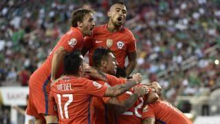 Chile golea a México en cuartos de final de Copa América.