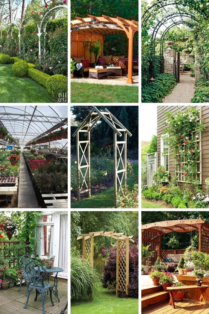 Amazing Garden Structure Design Ideas Frugal Living Garden Structures Landscape Design Garden Design
