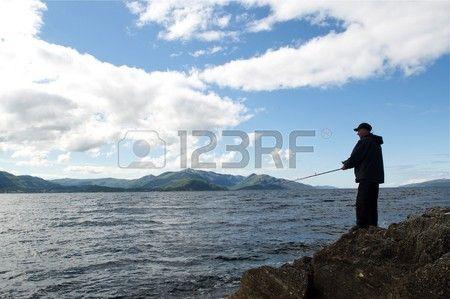 Norway fjord fishing