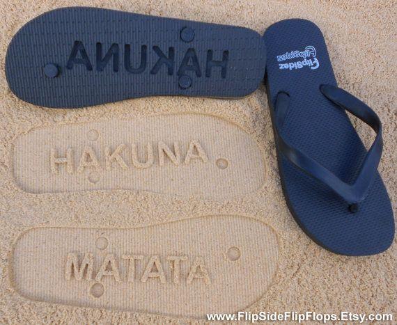 HAKUNA MATATA! I want these!