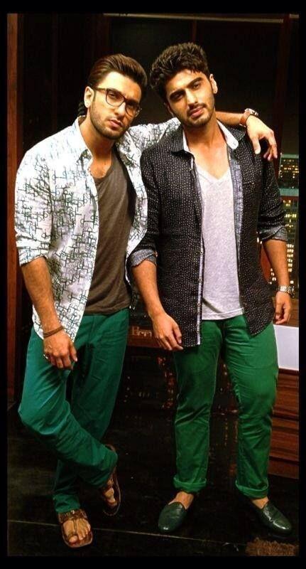 Ranveer Singh and Arjun Kapoor!!