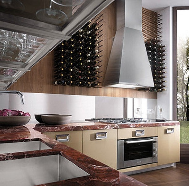 Kitchen, Fabulous Modern Italian Kitchen Designs Ideas: Contemporary  Italian Kitchen Decorating With Extra Cabinet