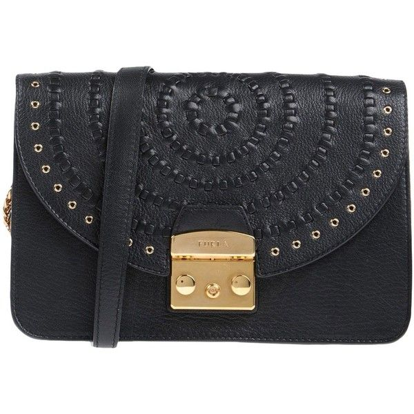 Furla Handbag (2.825 DKK) ❤ liked on Polyvore featuring bags, handbags, black, furla bags, furla purses, leather purses, furla handbags and 100 leather handbags