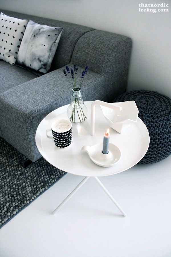 Via That Nordic Feeling | HAY DLM Table | Grey and White