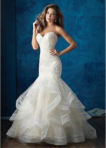 25  best ideas about Mermaid wedding dresses on Pinterest | Lace ...