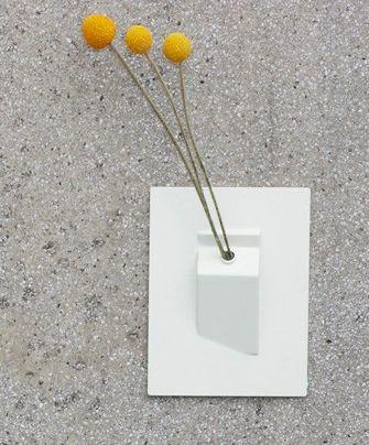 Wall Vase: Make Your Cubicle A Little Bit Prettier