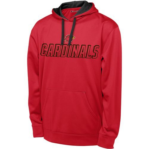 Champion Men's Lamar University T-Formation Hoodie (Red, Size Large) - NCAA Licensed Product, NCAA Men's Fleece/Jackets at Academy Sports