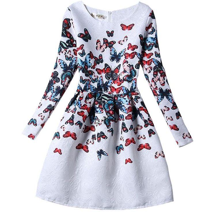 $19.90 (Buy here: https://alitems.com/g/1e8d114494ebda23ff8b16525dc3e8/?i=5&ulp=https%3A%2F%2Fwww.aliexpress.com%2Fitem%2FGirls-formal-dresses-Teens-designer-Print-flower-Butterfly-Print-long-sleeve-dress-easter-holiday-girl-costume%2F32601588724.html ) Girls formal dresses Teens designer Print flower Butterfly Print long sleeve dress easter holiday girl costume 15-473 for just $19.90