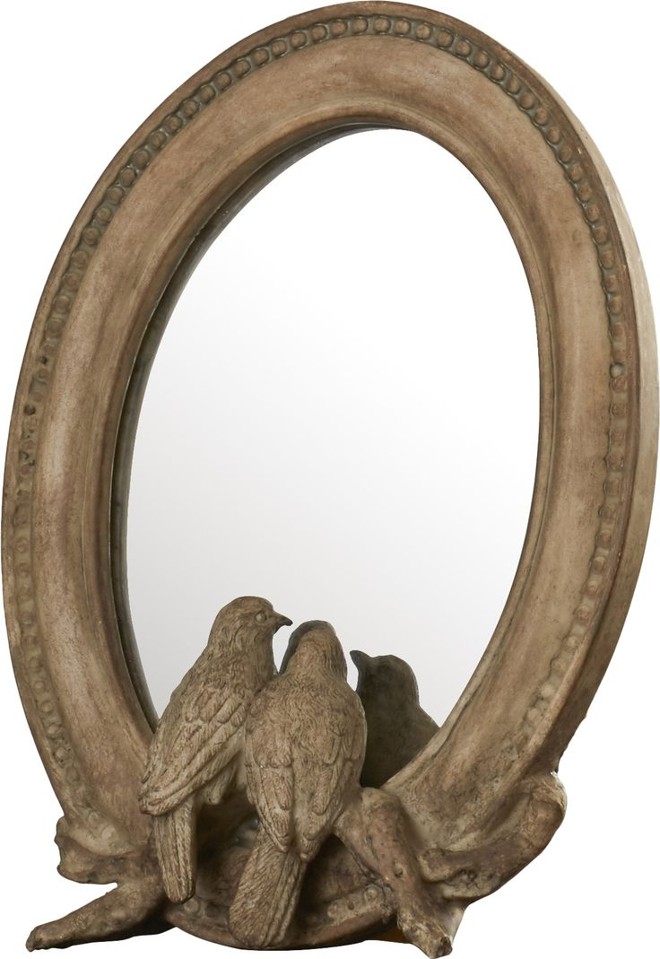 Love Birds Stand Mirror (Set of 2)