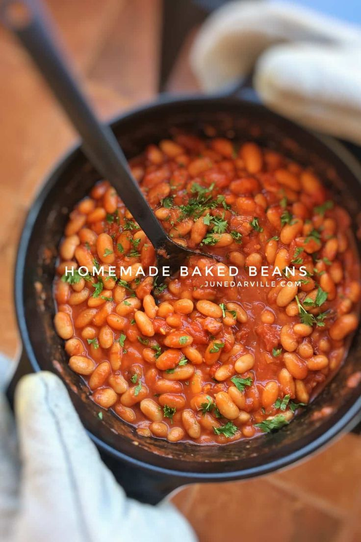 how to cook baked beans on stove
