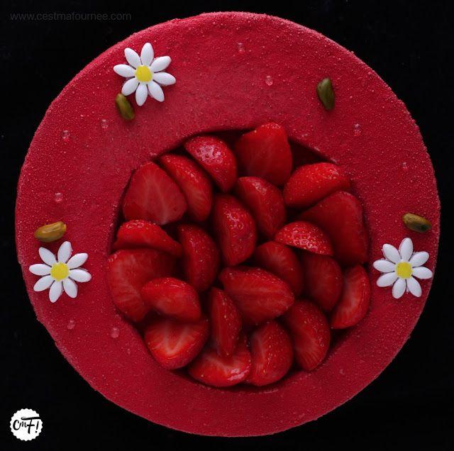 """C'est ma fournée !: Le fraisier de Benoit Couvrand (""""La Pâtisserie"""" Cyril Lignac)"""