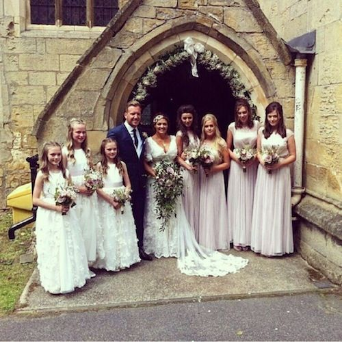 Louis' sisters, Dan Deakin and Johannah Poulston, Eleanor