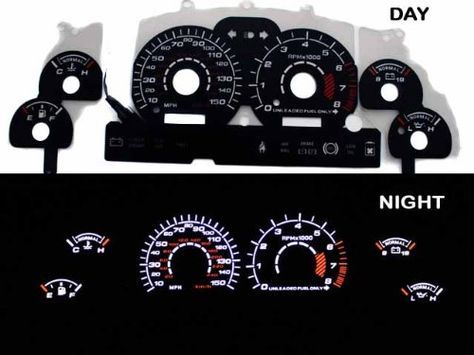 1994-1998 Ford Mustang GT V8 Black Indiglo Glow Gauge ninety four ninety five 96 97 98 - http://buyingmanual.com/1994-1998-ford-mustang-gt-v8-black-indiglo-glow-gauge-ninety-four-ninety-five-96-97-98.html
