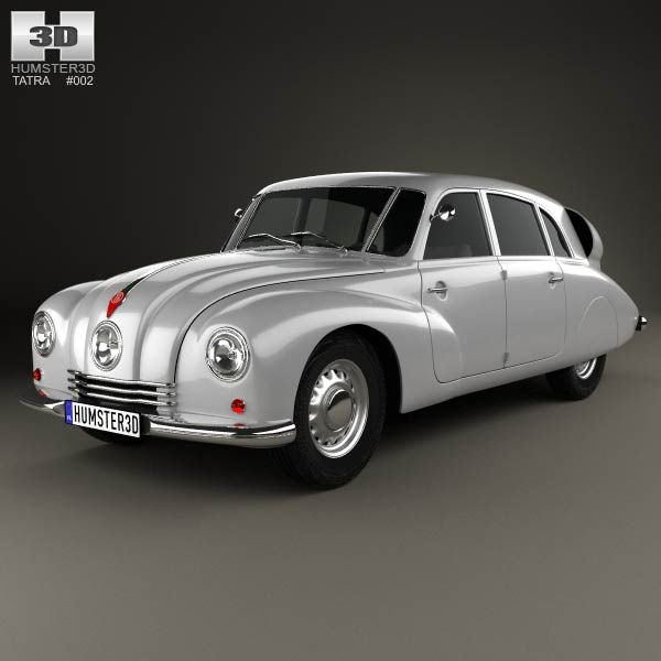 Tatra T87 1936 3d model from humster3d.com. Price: $75