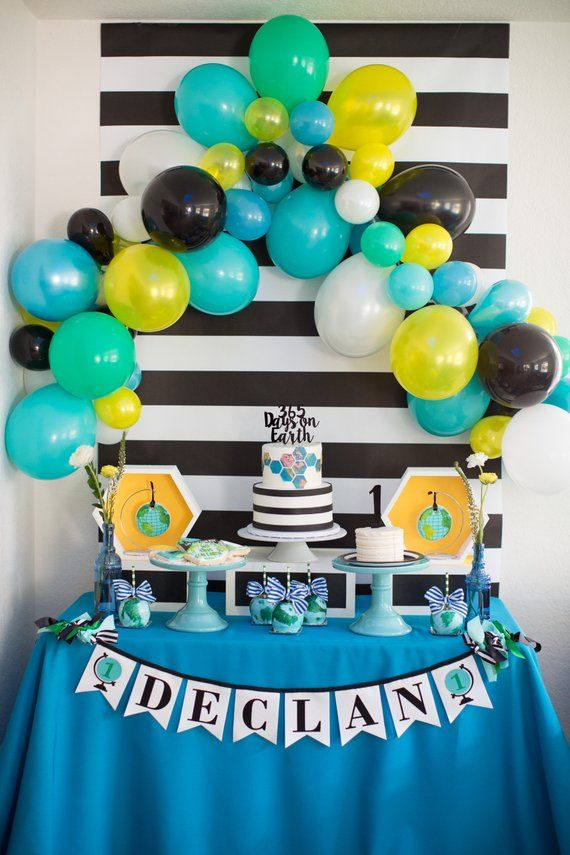 1st birthday boy banner to be used as first birthday decorations a rh pinterest com
