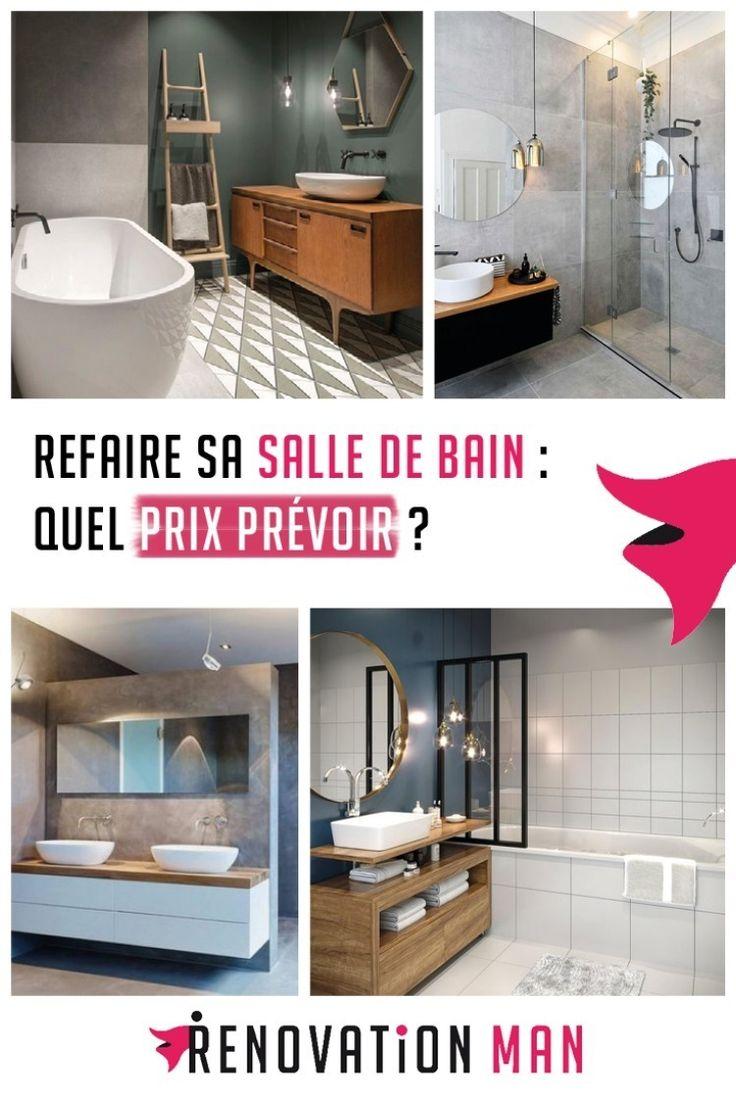 Prix Renovation De Salle De Bains Budget Moyen A Prevoir En 2019 Renovation Salle De Bain Idee Salle De Bain Deco Salle De Bain