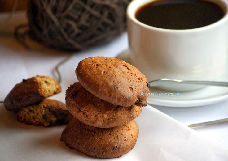 Szilvás-diós keksz