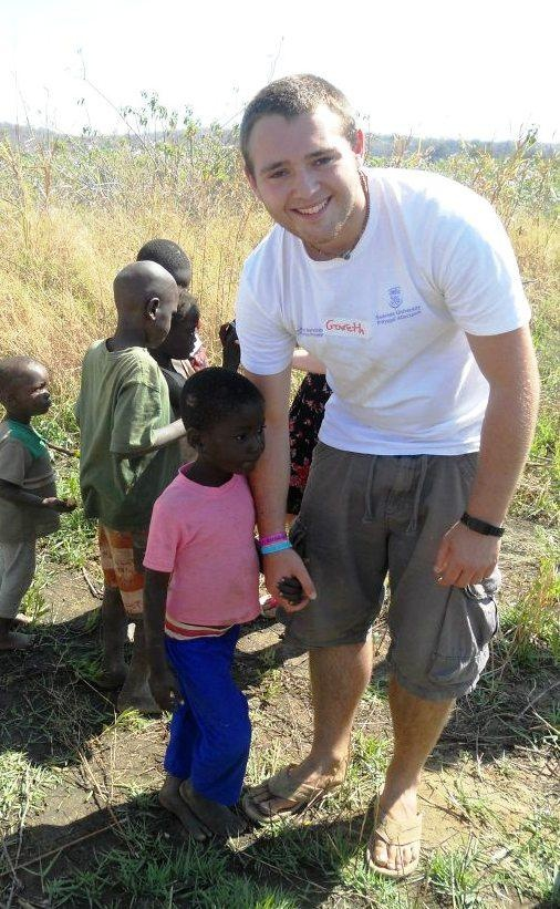 Gareth volunteered in Siavonga through our student charity, Discovery