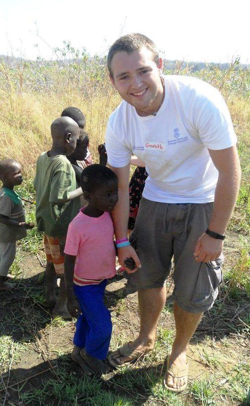 Gareth volunteered in Siavonga through www.swan.ac.uk/discovery