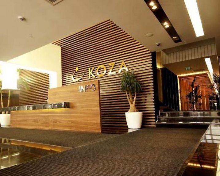 Banque accueil hôtel luxe