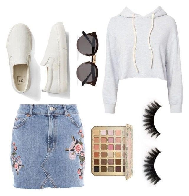 """""""Yes or NO?👎🏻👍🏻"""" by alice12 on Polyvore featuring Topshop, Monrow, Gap and Illesteva"""