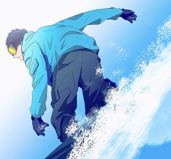 ボード行きたいなっていう。ちなみに笠松センパイである。青峰と一緒にいけばいいよ。