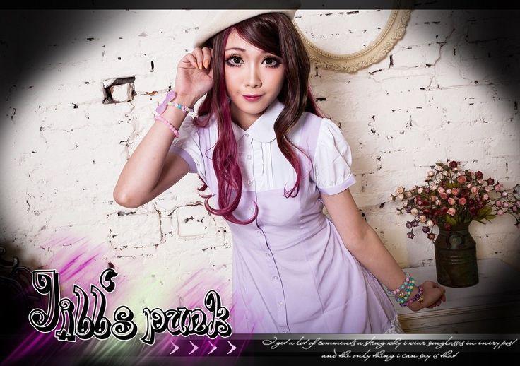 Lolita Fairy Once Upon A Princess Sofia Layer-Look Chiffon Shirt Dress Jhu3001 U