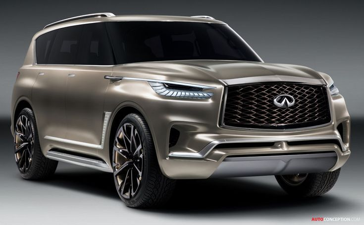 Infiniti QX80 'Monograph' Concept Unveiled in New York