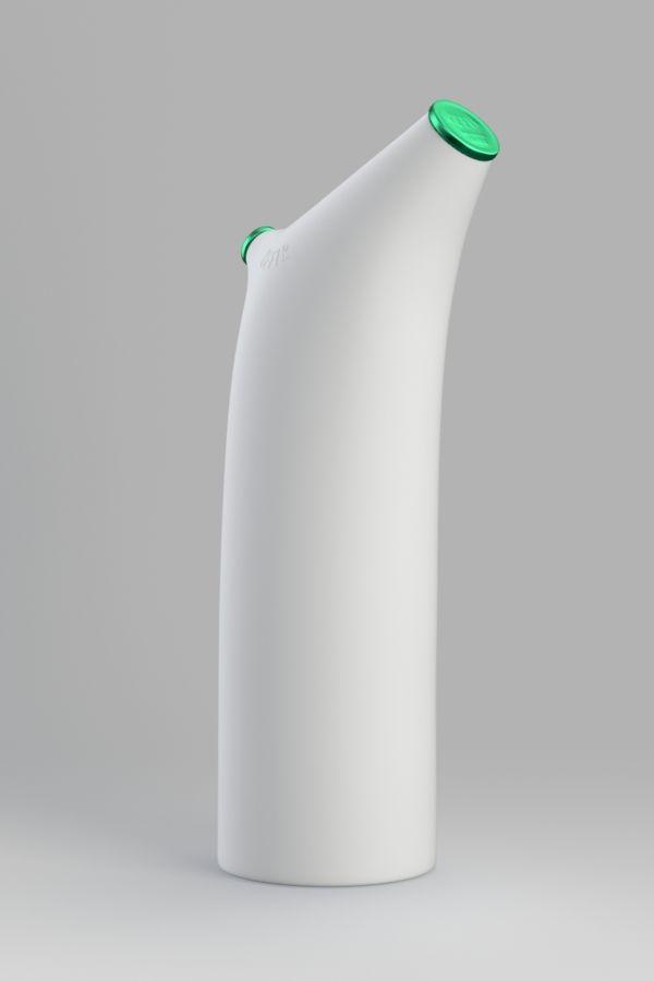 Kefir bottle concept by Dmitry Patsukevich, via Behance